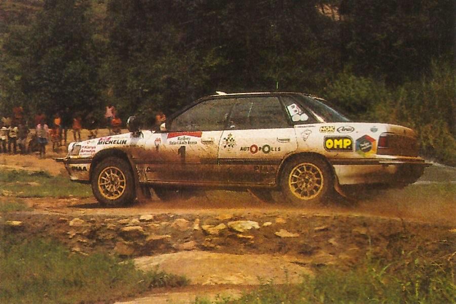 Markku Alén - Subaru Legacy RS