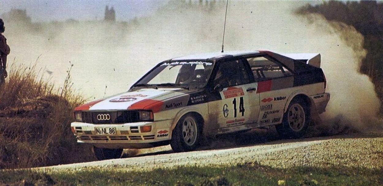 Mouton - Pons / Audi Quattro