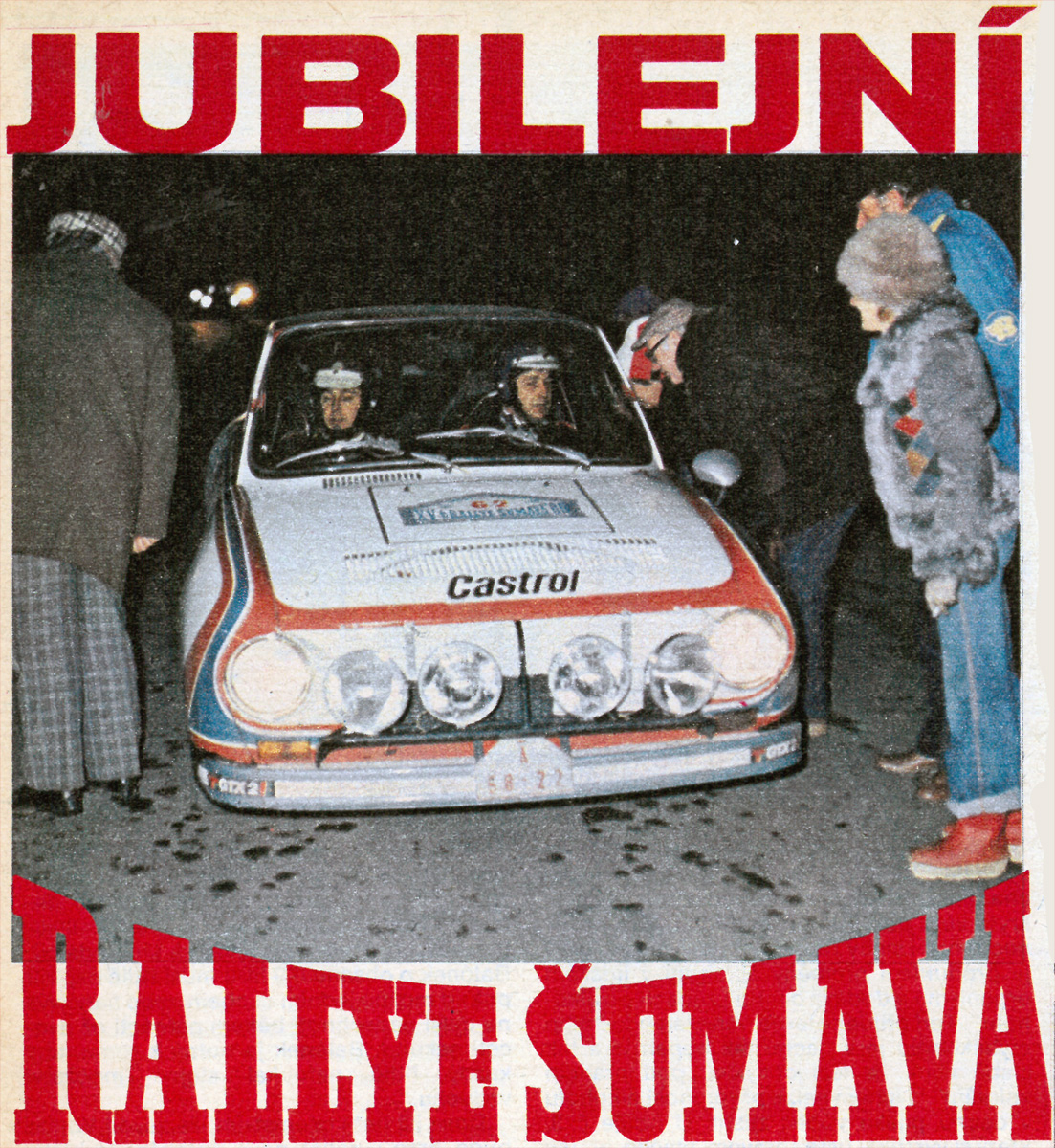 Rallye Šumava 1980
