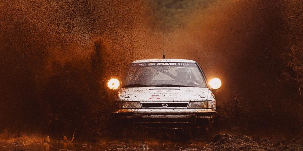 Safari rally 1990 blátivé peklo