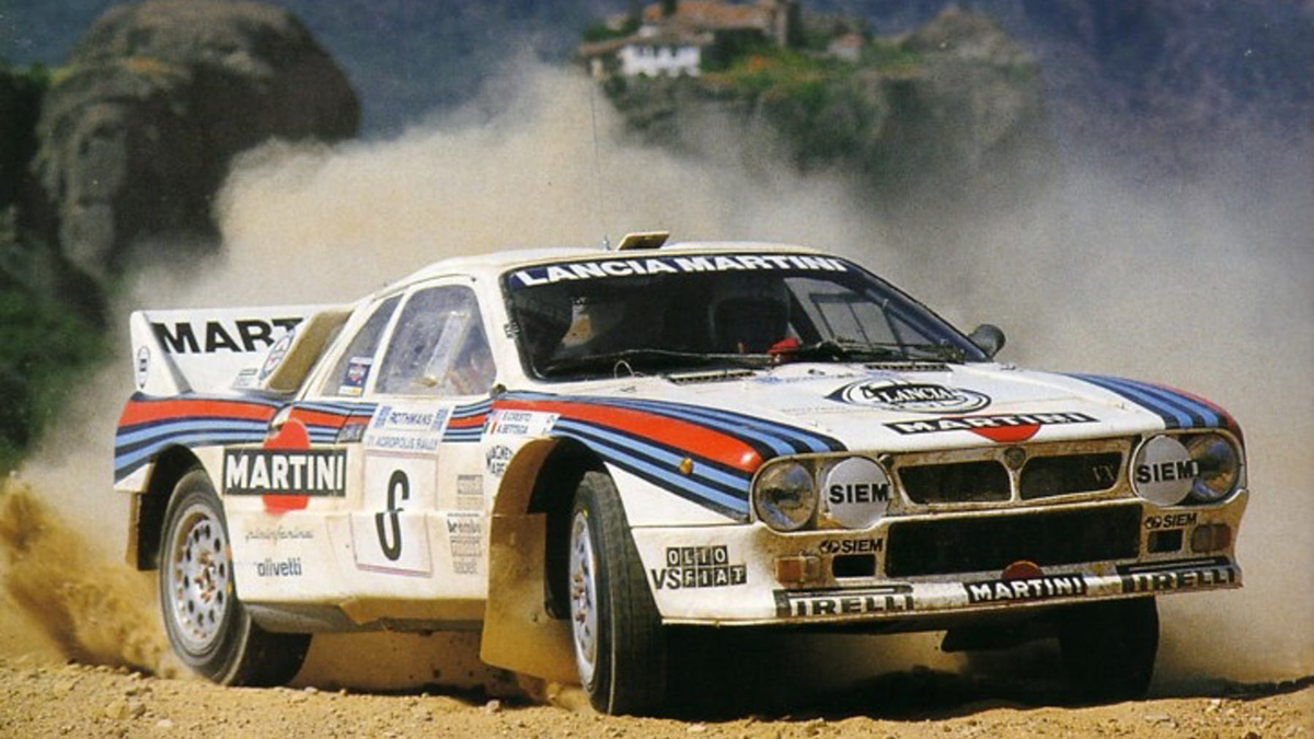 Bettega - Perissinot / Lancia 037 Rally
