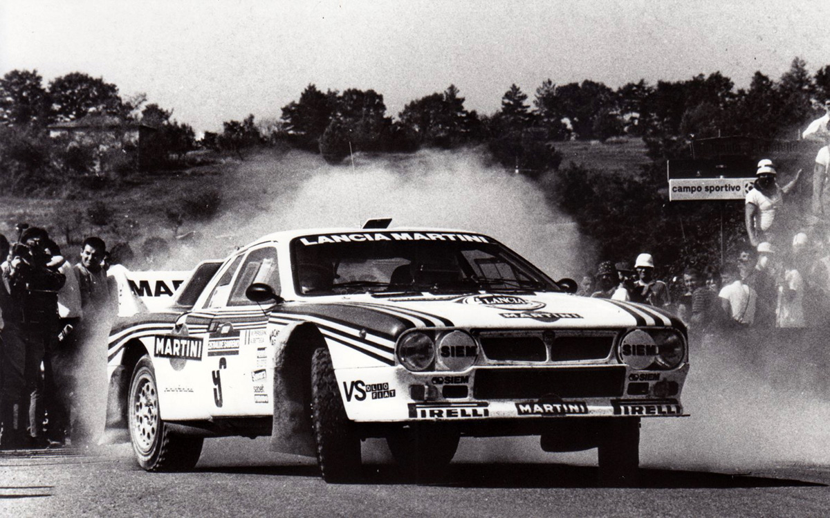 Bettega Rally Sanremo 1983