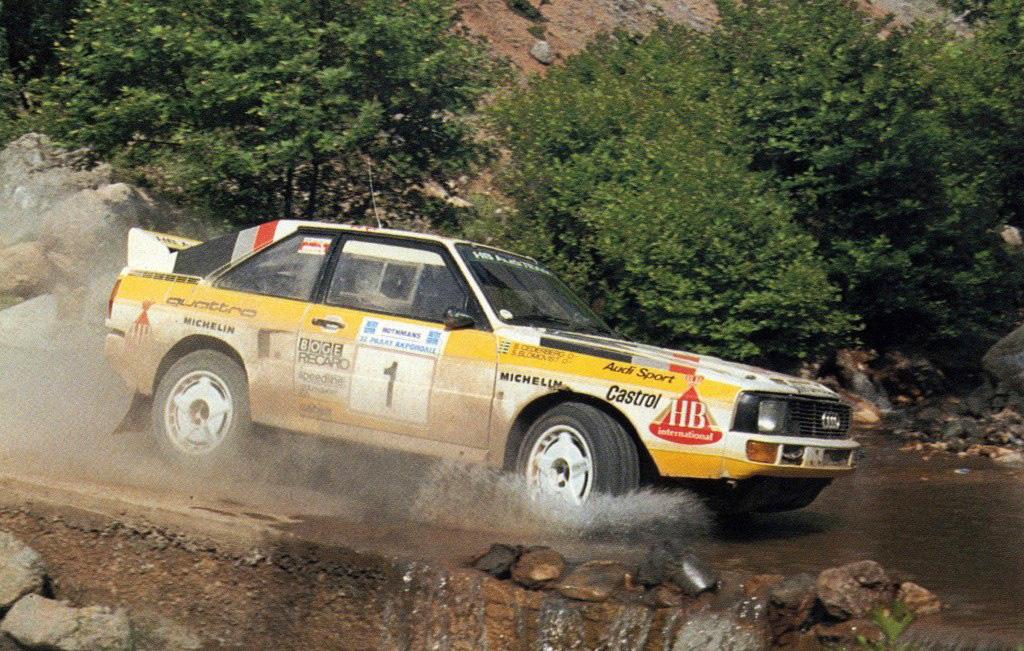 Blomqvist-Cederberg / Audi Sport Quattro