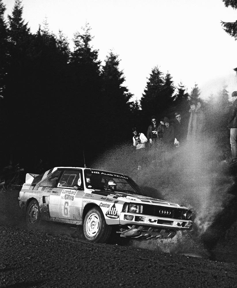 Mouton-Pons / RAC Rally 1984