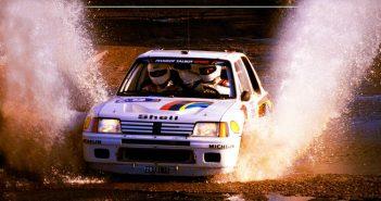 RAC Rally 1984 - Ari Vatanen