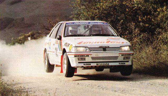 Zanussi/Checcini - Peugeot 405 MI16