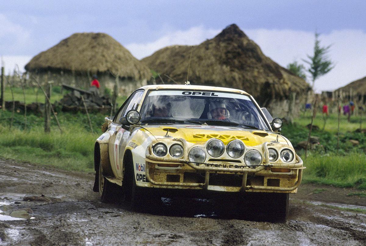 Aaltonen/Drews - Opel Manta 400