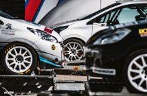 Testování soutěžních automobilů Zlín 2020