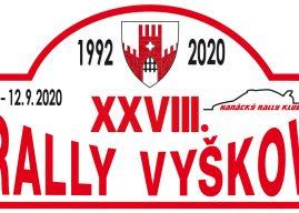 Rally Vyškov 2020 – šest rychlostních zkoušek a skvělé startovní pole