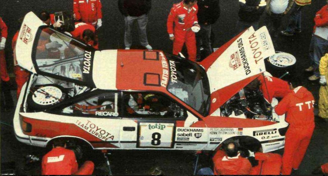 Rallye Sanremo 1988 - Eriksson - Toyota Celica GT4 ST165
