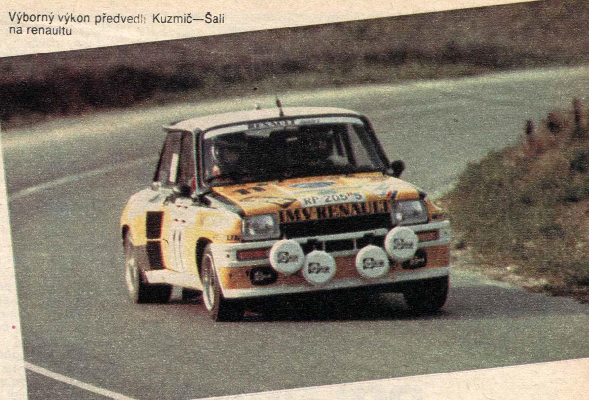 Küzmič-Šali / Renault R5 Turbo