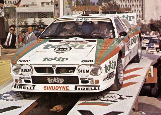 Rallye Zlaté písky 1985 – Cerrato: Ještě nejsem mistrem