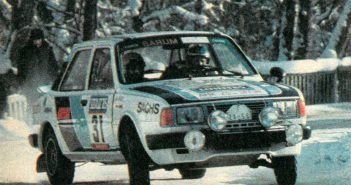 Rallye Sojuz 1985 Hahnel Málek Škoda 130 LR