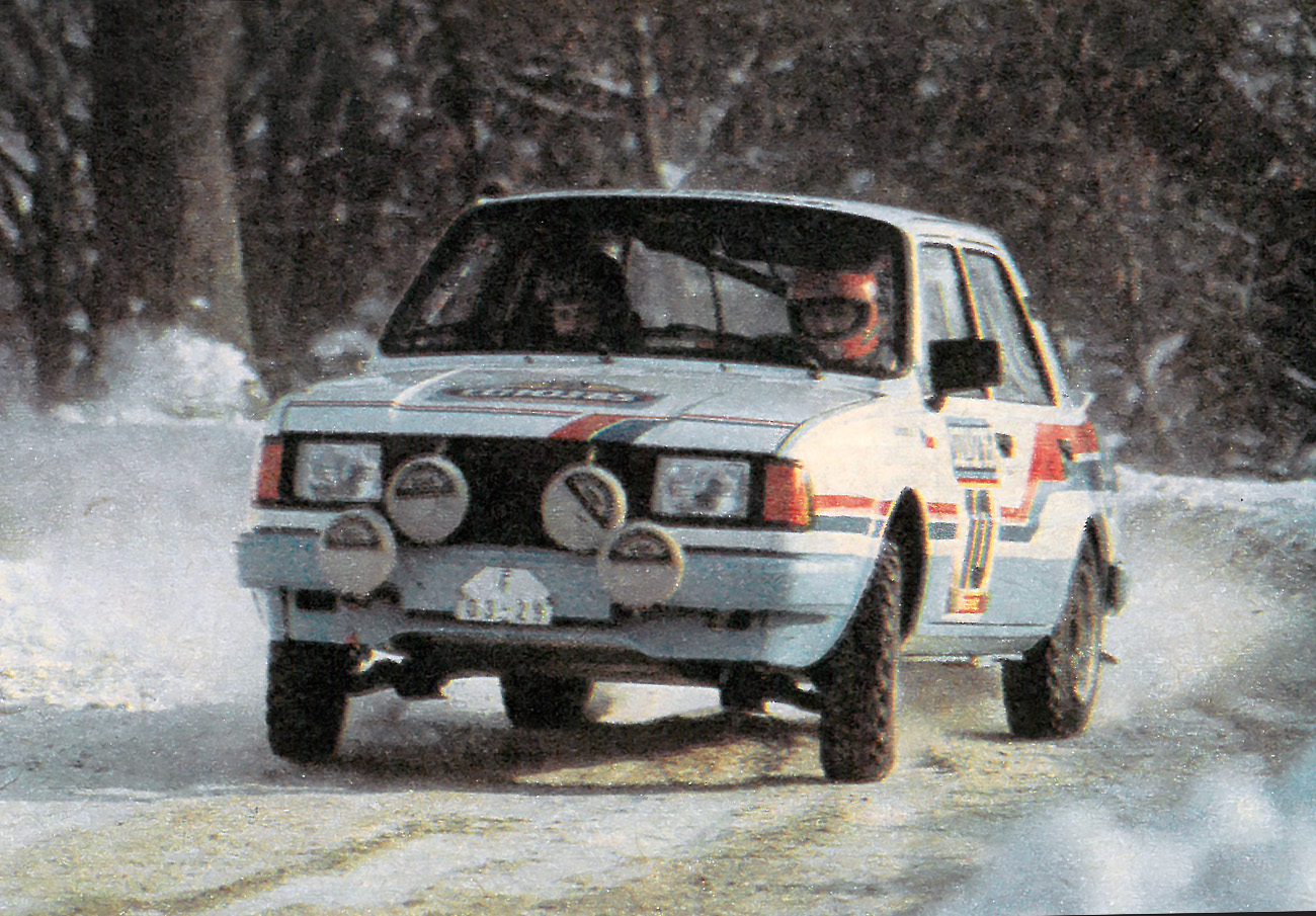 Rallye Sojuz 1985 Urban Klíma Škoda 130 LR
