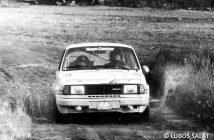 Rallye Šumava 1985 foto Luboš Šalát