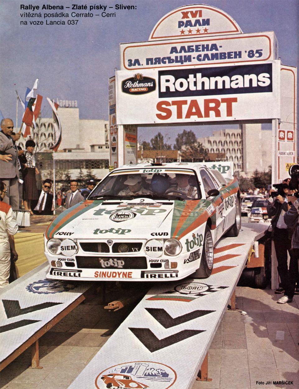 Cerrato-Cerri / Lancia 037 Rally