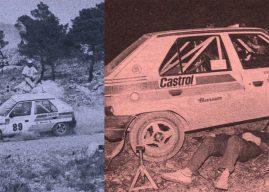 Rallye Acropolis 1990 – Škoda Favorit poprvé v Řecku