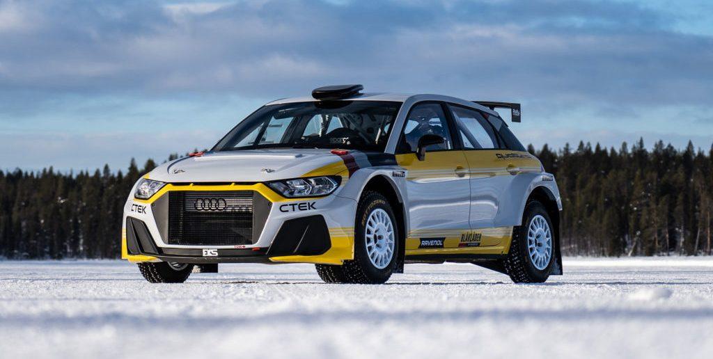 Audi Quattro A1 Rally2 by EKS