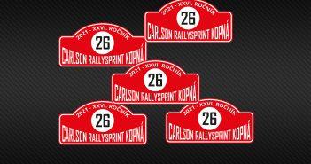Carlson Rallysprint Kopná 2021 banner