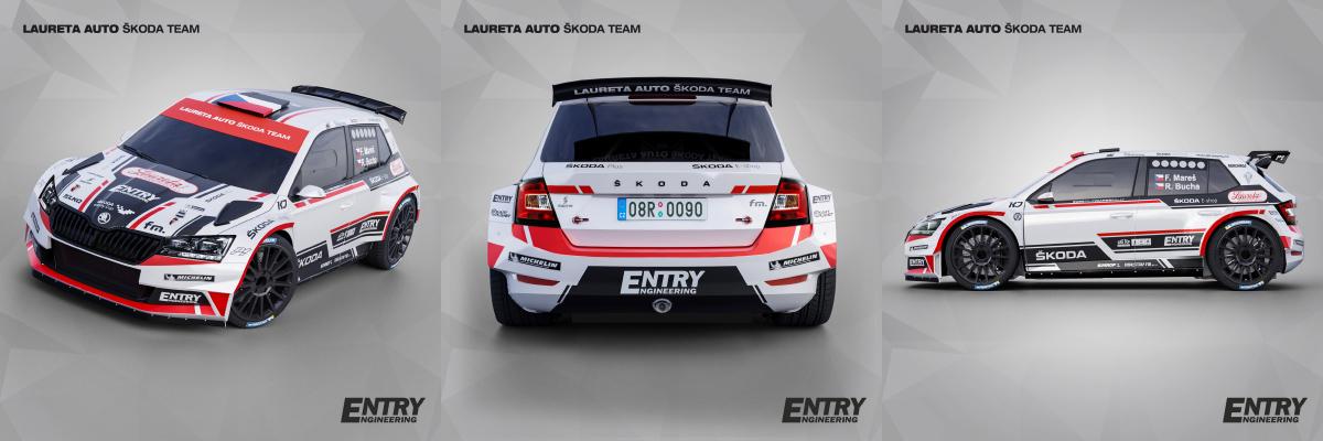Mareš-Bucha / Škoda Fabia Rally2 EVO