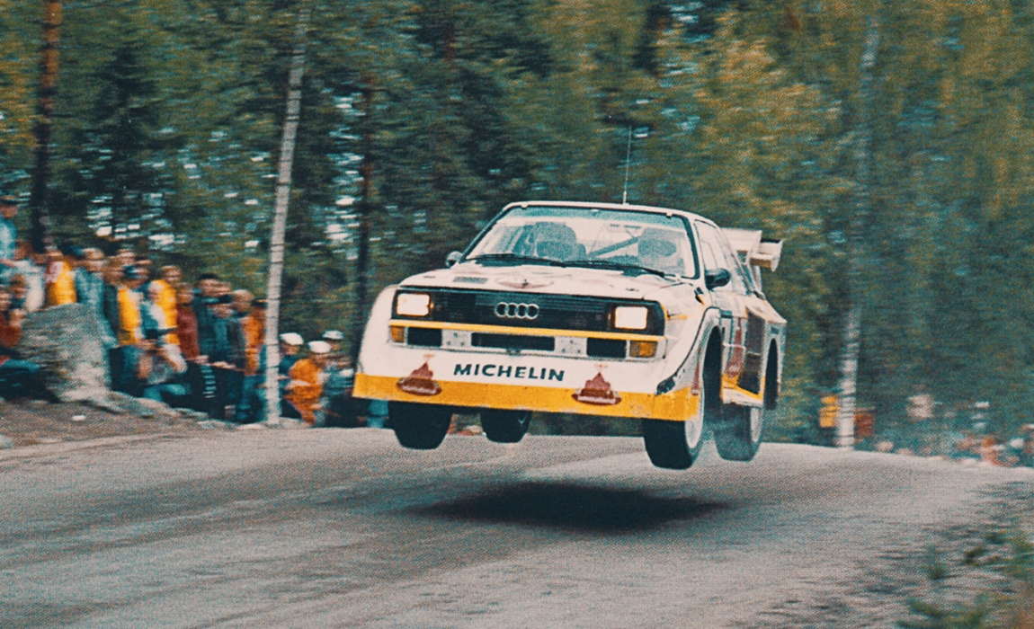 Audi Quattro S1 E2 / Rally of the 1000 Lakes 1985