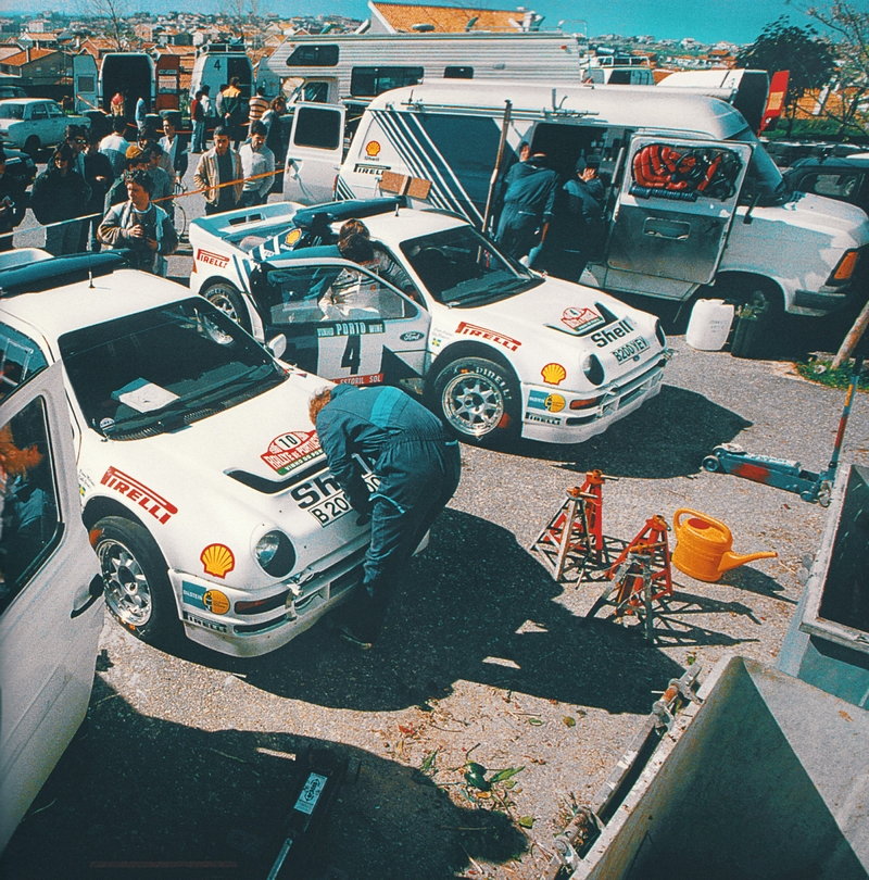 Ford Motorport - Rallye de Portugal 1986 servis