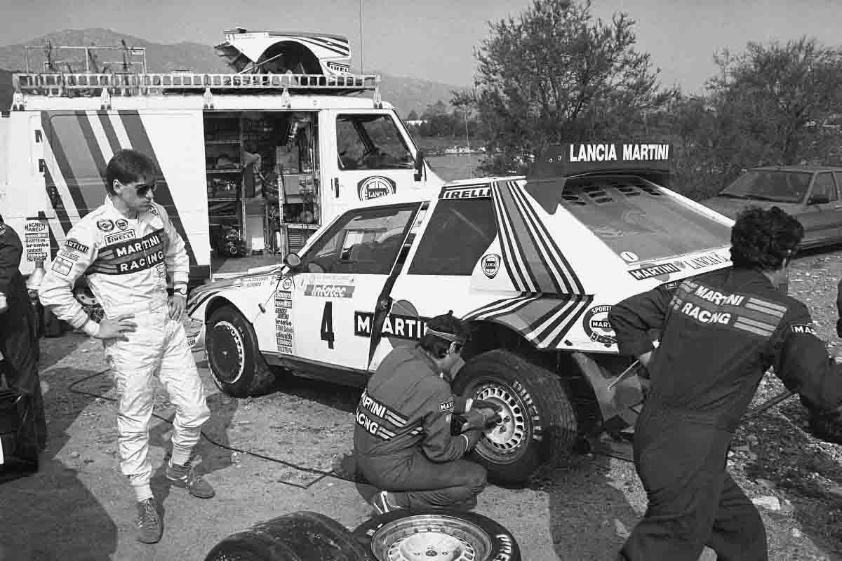 Toivonen-Cresto / Tour de Corse rallye 1986