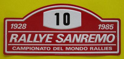 Rallye Sanremo 1985