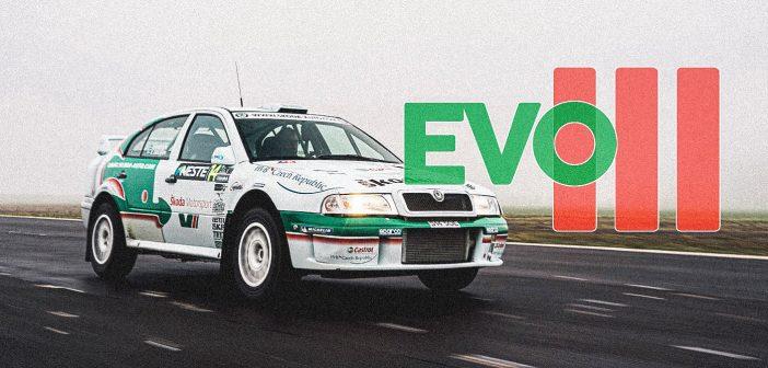 ŠKODA OCTAVIA WRC EVO III – ex-fabrická podpultovka