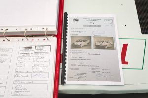 Škoda Octavia WRC EVO III homologační dokumenty