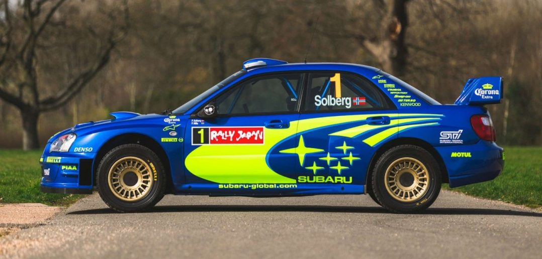 Subaru Impreza S10 WRC Prodrive Legends