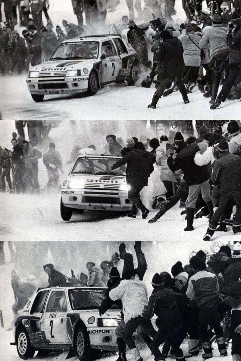 Vatanen crash Rallye Monte Carlo