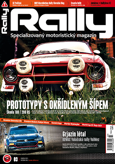 Rally Magazín 03 2021 titulni strana