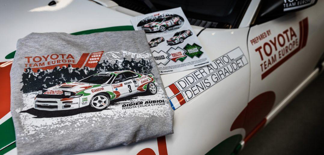 Trička Rallye Design