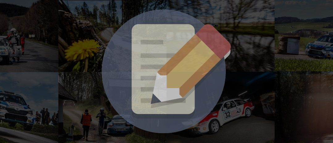 Rallye Šumava & Vltava 2021 komentář