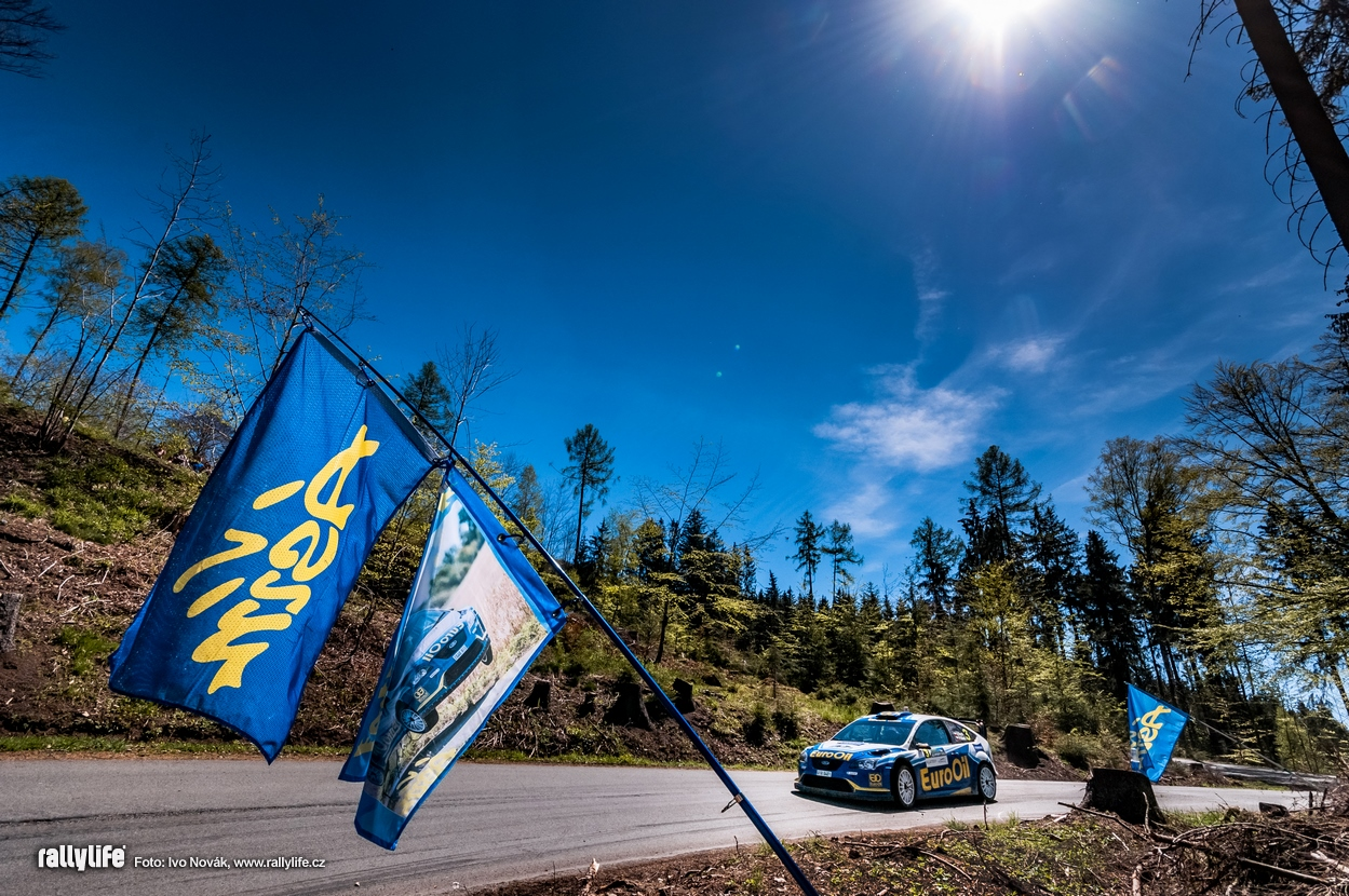 Václav Pech Ford Focus WRC