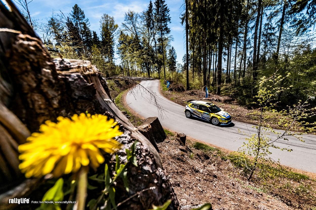 Věroslav Cvrček Rallye Šumava 2021