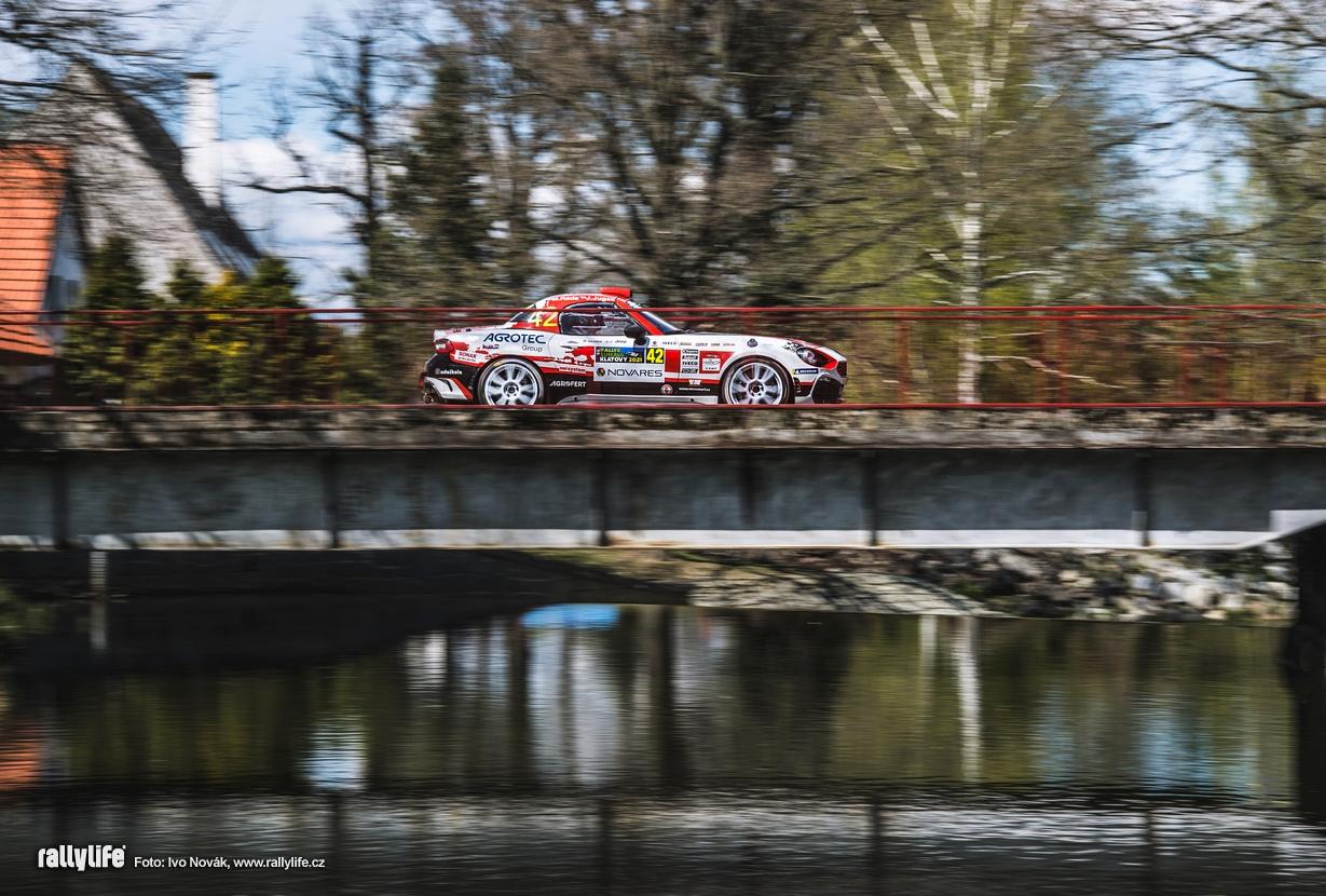 Rallye Šumava shakedown