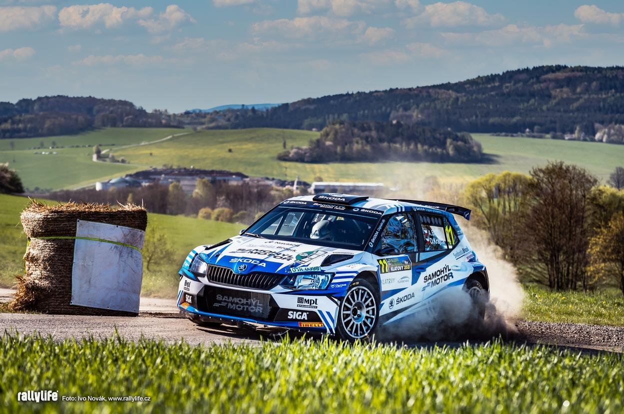 Adam Březík Rallye Šumava 2021