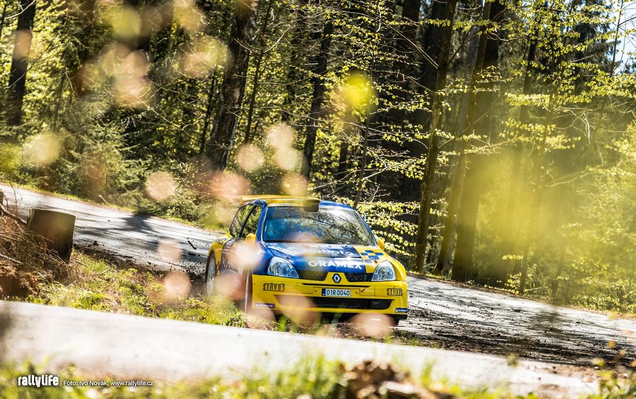 Jan Dohnal Rallye Šumava 2021