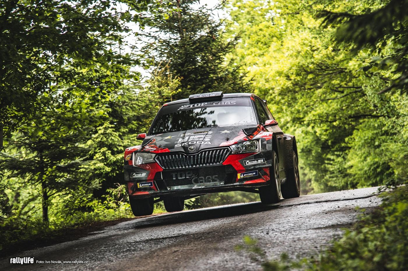 Semerád-Hovorka / Škoda Fabia Rally2 evo