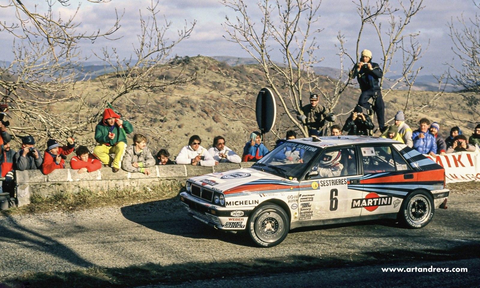 Auriol-Ocelli / Rallye Monte Carlo 1989