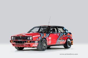 Lancia Delta Integrale 16V Martini Rosso