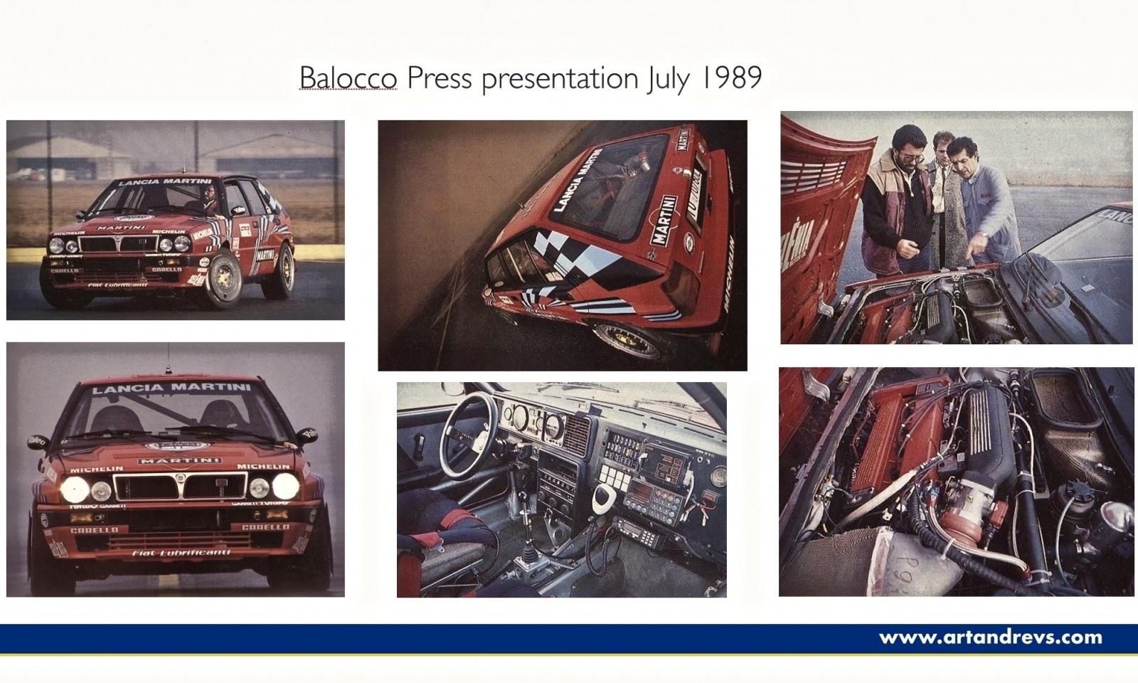 Prezentační materiály Lancia