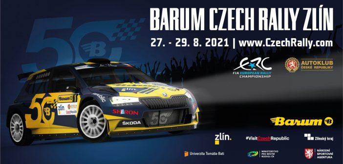 Barum Czech Rally Zlín 2021 odtajnila rychlostní zkoušky