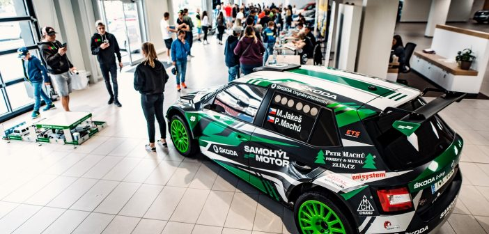 Autogramiáda Samohýl Motor – Barum Czech Rally 2021