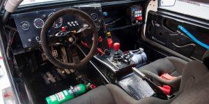 Ford RS200 EVO2 interiér