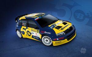 Škoda Fabia WRC BARUM - Kresta-Enge