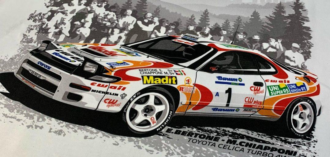 Tričko Enrico Bertone - Barum rallye 1995