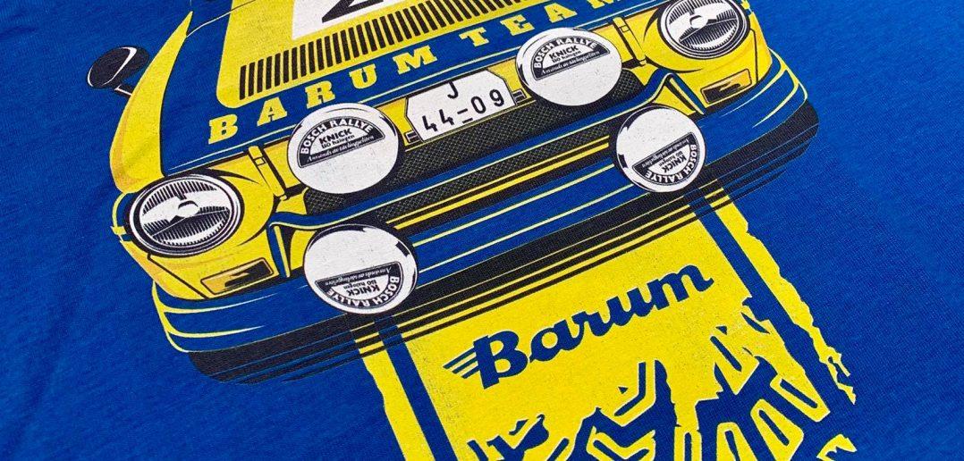 Tričko Leo Pavlík - Barum rallye 1977